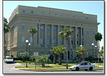 Historic Lake County City Hall in Tavares Florida