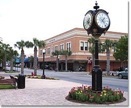 Leesburg Florida Downtown Area